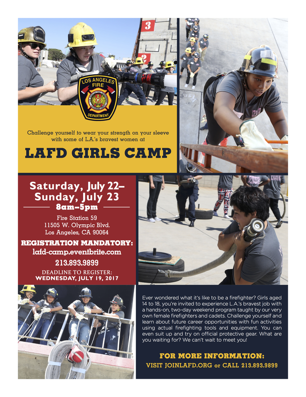 LAFD Girls Camp