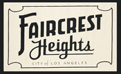 Faircrest Heights News